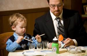 Как сделать так, чтобы дети приводили родителей в рестораны