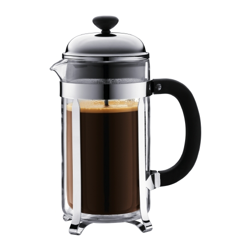 Кофейник с двойными стенками на 8 чашек