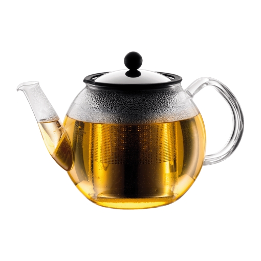 Заварочный чайник с прессом и фильтром