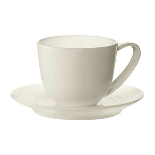 2 чашки для кофе-эспрессо с блюдцами