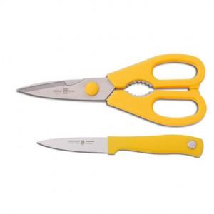 Набор кухонный (ножницы, нож для овощей 8 см)