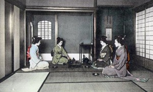 Японская посуда для чая и саке