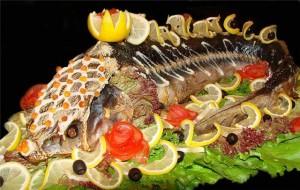 Блюда для подачи рыбы