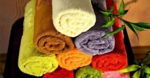 Подача подогретых или охлажденных полотенец