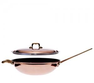 Сковорода Wok с крышкой, 28 см