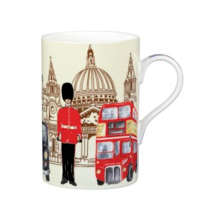 """Кружка в подарочной упаковке """"Достопримечательности Лондона"""", 0,35 л"""