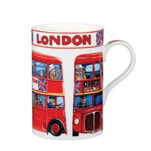 """Кружка в подарочной упаковке """"Лондонский автобус"""", 0,35 л"""