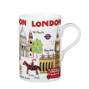 """Кружка в подарочной упаковке """"Выходные в Лондоне"""", 0,35 л"""