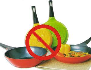 Посуда из каких материалов вредна для готовки?