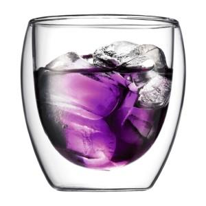 2 стакана с двойными стенками