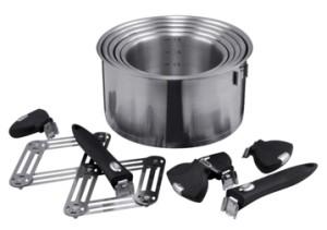 Крышки для сковородок и кастрюль, ручки для сковородок, кастрюль и прочая посудная фурнитура