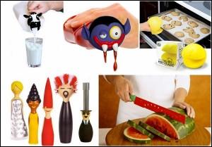Необычные предметы для кухни. Тем хозяйкам, которые хотят пощеголять перед гостями.