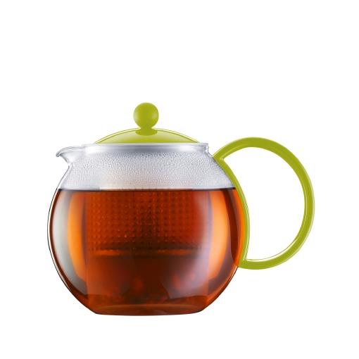 Заварочный чайник с пластиковым фильтром
