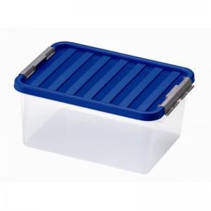 Контейнер пищевой с клипсами, 14 л