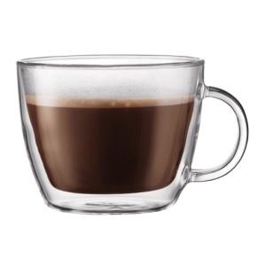 2 чашки для кофе-латте с двойными стенками
