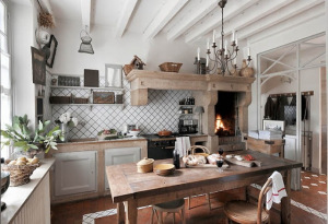 french-home-kitchen-rustic